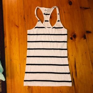 VS Pink Striped Racerback